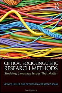 Critical Sociolinguistic Research Methods B