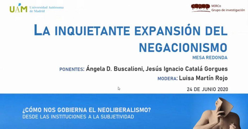 Sesión 2 del seminario ¿Cómo nos gobierna el neoliberalismo?