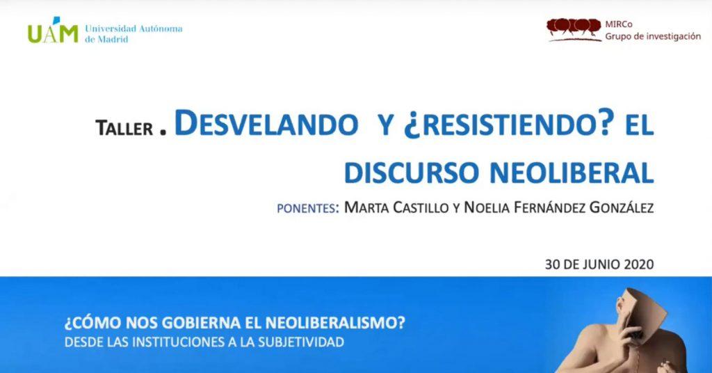 Taller seminario neoliberalismo